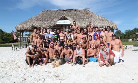 Big brothers … the Gazoni Family in Frat Boys.