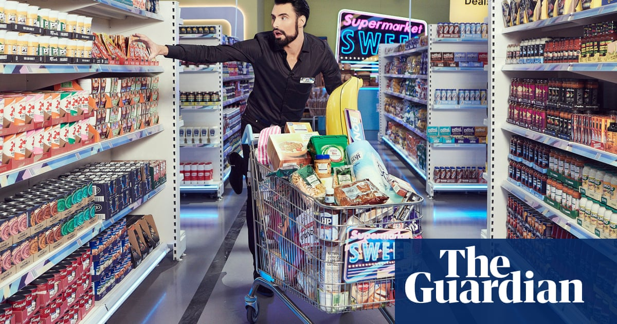 Rylan Clark-Neal on the new Supermarket Sweep