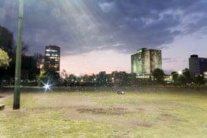 UNAM Campus, Mexico City, Mexico - PM2.5 0 - 10 micrograms per cubic metre