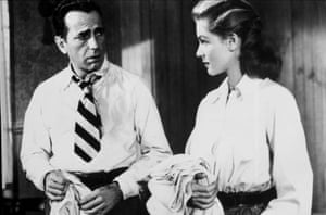 Humphrey Bogart and Lauren Bacall in Key Largo