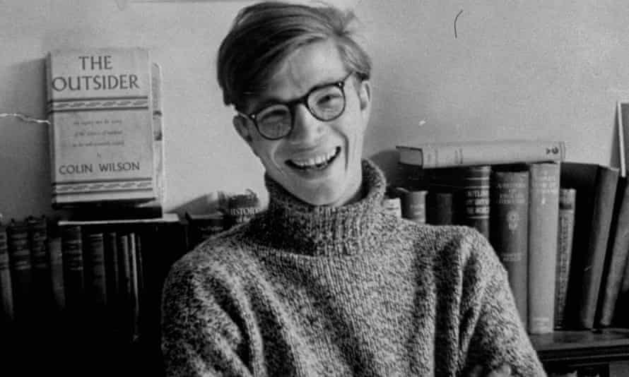 Young man, but not that angry ... Colin Wilson as a young, working-class sensation in 1956.