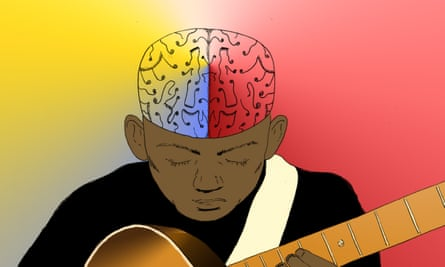 'Music probably does something unique. It stimulates the brain in a very powerful way, because of our emotional connection with it.'
