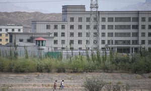 Aa facility believed to be a re-education camp where mostly Muslim ethnic minorities are detained, in China's western Xinjiang region.