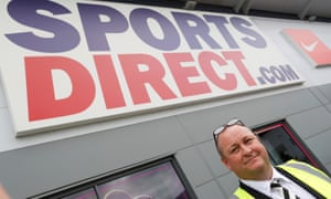 Mike Ashley, the founder of sportswear retailer Sports Direct.