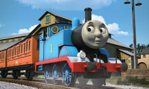 Freakish … Thomas and Friends.