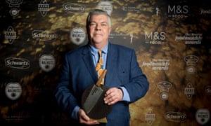 Lifetime achievement award winner Simon Hopkinson. Photograph: Alicia Canter/The Guardian