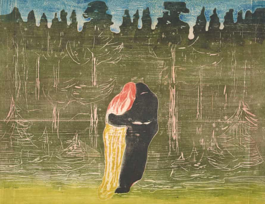 Towards the Forest II, 1897/1915 by Edvard Munch.
