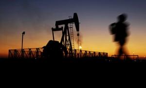 An oil pump in Iran