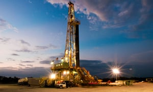 A rig at the Eagle Ford shale formation in Texas.