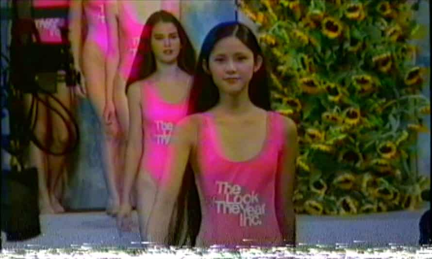 A still from previously unseen footage of the 1991 Look of the Year finale