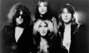 Mott the Hoople … with drummer Dale Griffin at top.