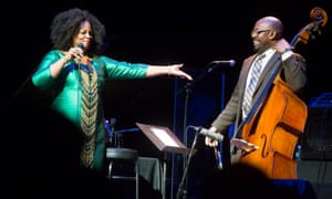 Dianne Reeves with Christian McBride.
