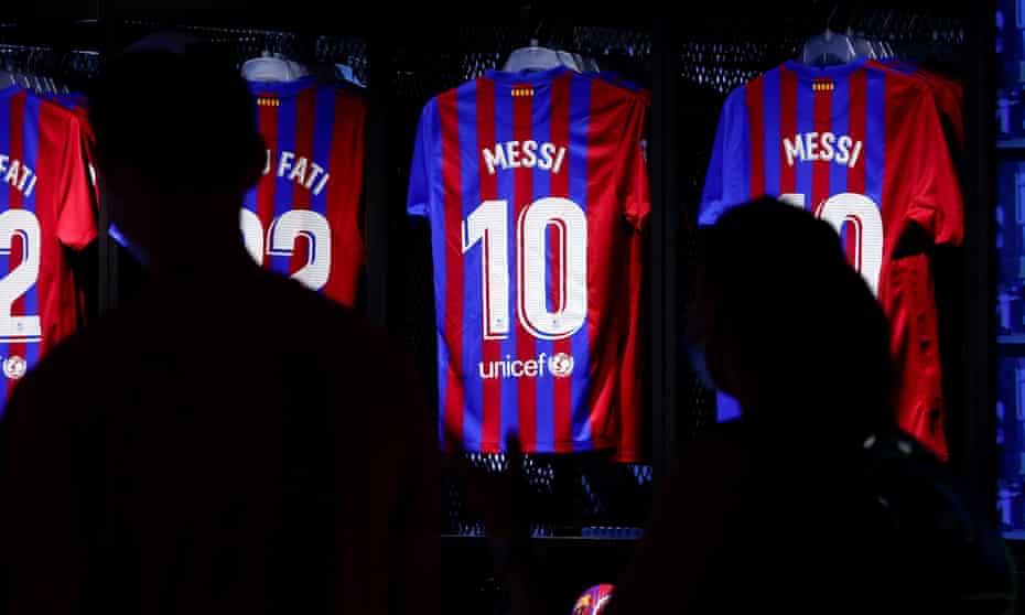 Lionel Messi shirts