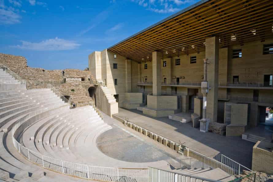 The 'new Roman theatre' at Sagunto, Spain, 2007.