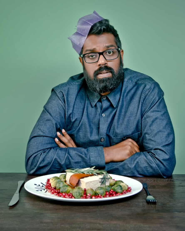 Romesh Ranganathan's vegan Christmas