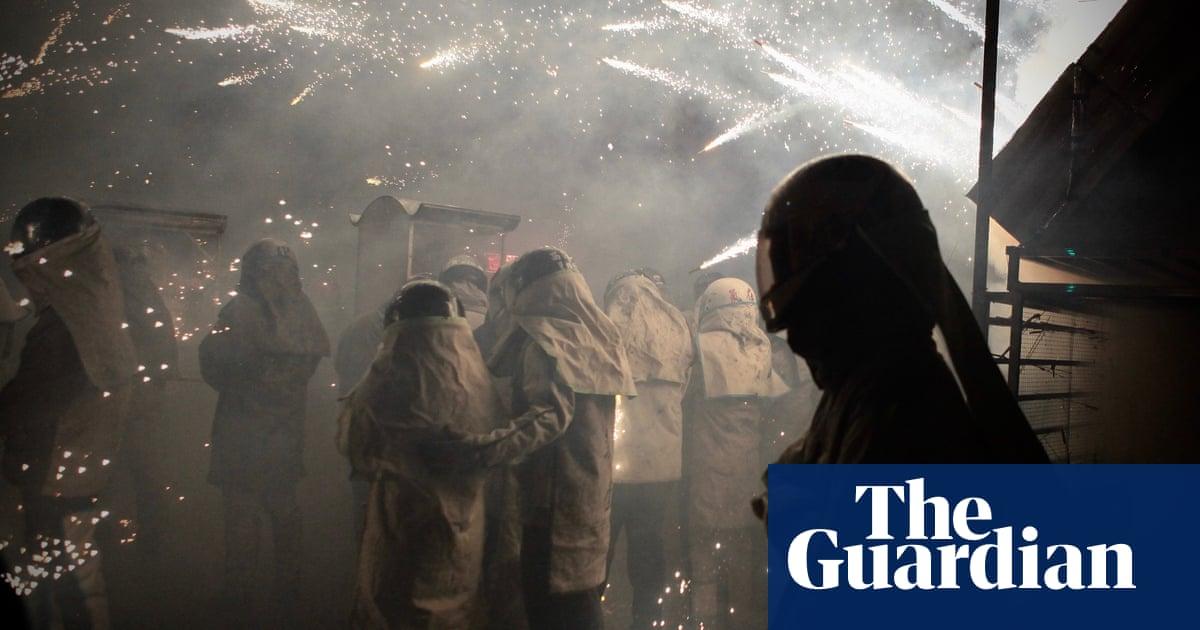 Gods, fireworks and plague: Taiwan folk festival takes aim at Covid