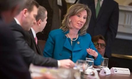 The bill's leading champion was Representative Barbara Comstock, a Virginia Republican.
