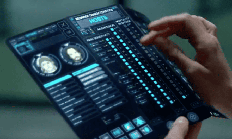 Will Samsung make a foldable screen as envisioned in HBO's Westworld a reality?