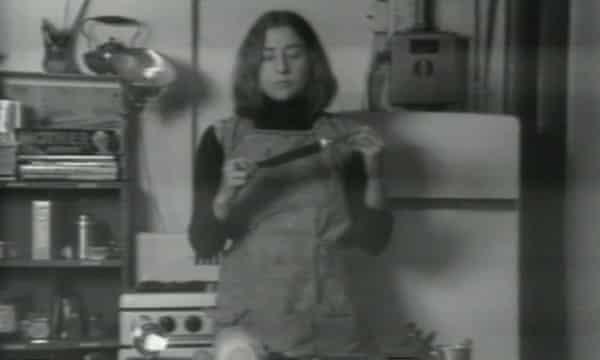 A still from Semiotics of the Kitchen