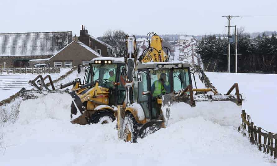 Extreme weather will have the biggest impact on the construction industry.