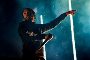 Kendrick Lamar: commanding and compelling.