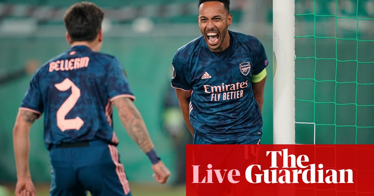 Europa League: Arsenal, Rangers and Dundalk in action – live clockwatch!