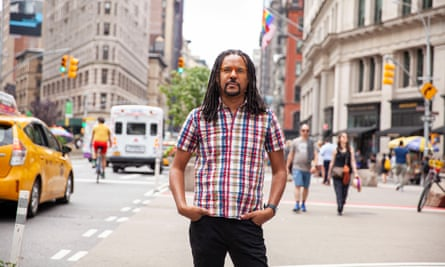 Colson Whitehead in New York.
