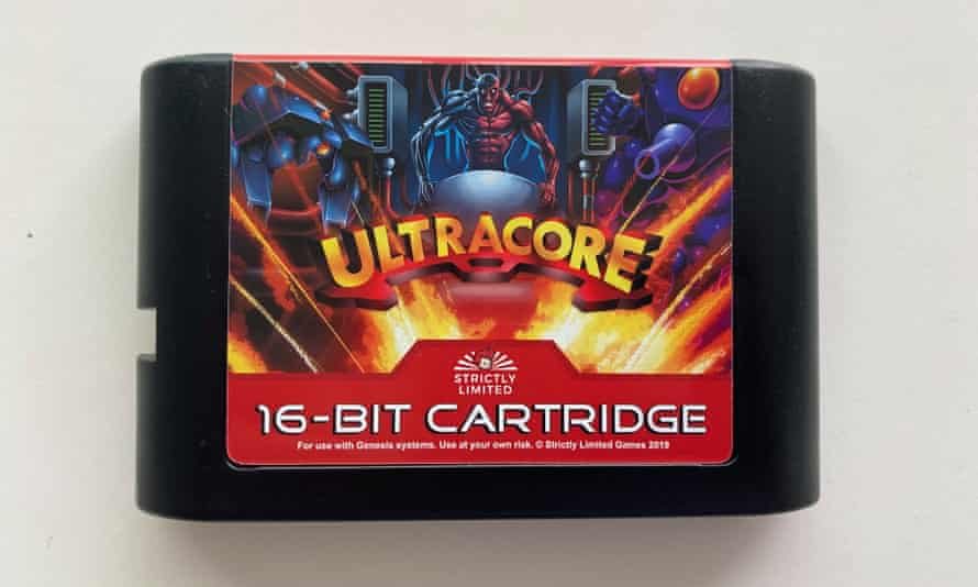 Ultracore was cancelled in 1994, but was finally released on the Mega Drive by Strictly Limited Games in 2019.