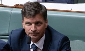 Energy and emissions reduction minister Angus Taylor
