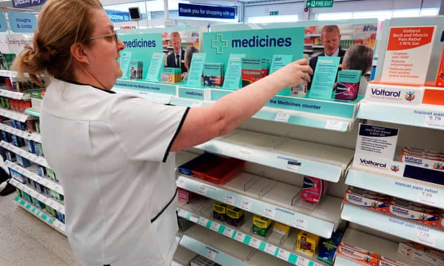 A Boots pharmacy in Edinburgh that sold out of hand sanitiser