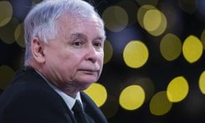 Jarosław Kaczyński, leader of the ruling Law and Justice party.