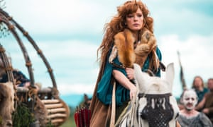 Kelly Reilly plays a Celtic Princess in Britannia.
