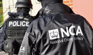 National Crime agency officers