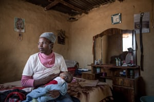 Nokuthula, 27, who lives in a rural village in South Africa