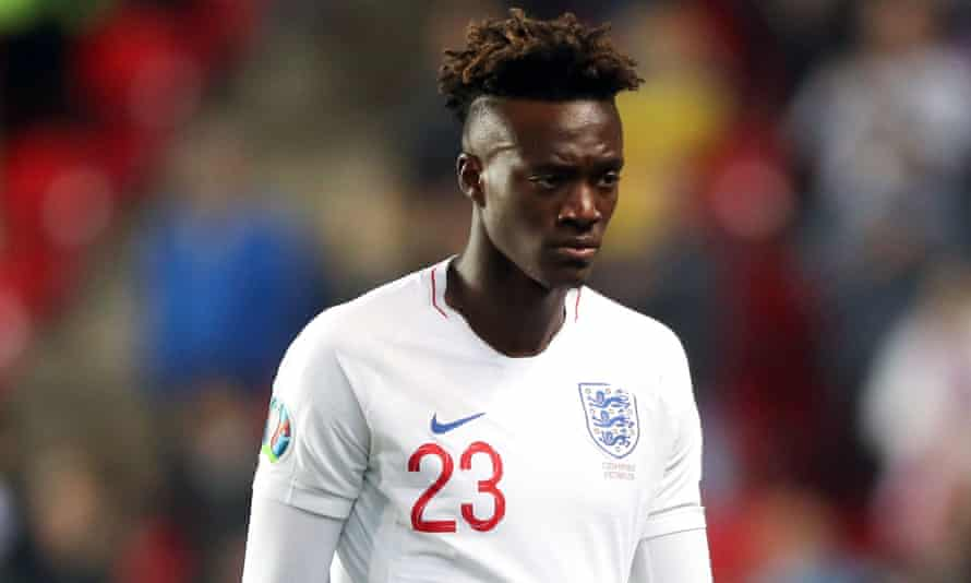 England striker Tammy Abraham said he and his teammates were considering walking off the pitch if they are subjected to racial abuse from Bulgaria fans.