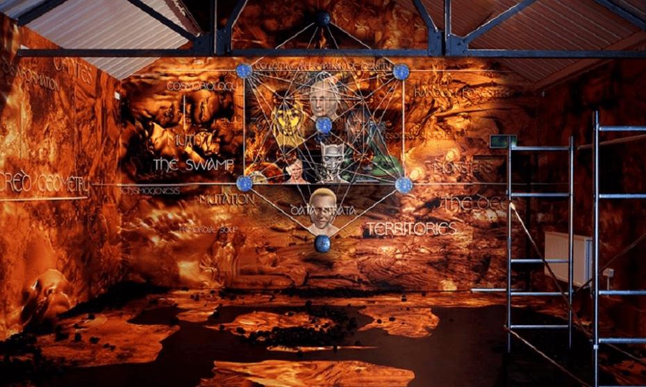 Joey Holder's work at Athens Biennale 2018.