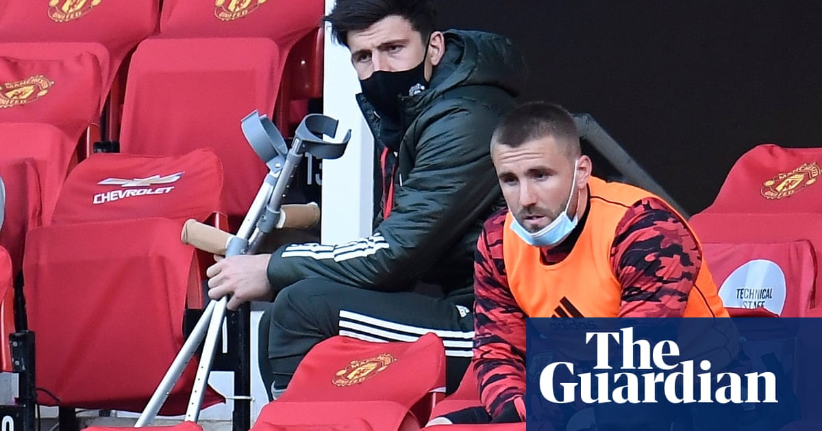 Harry Maguire doubtful for Europa League final but Solskjær remains hopeful