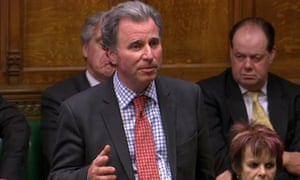 Oliver Letwin speaking in the House of Commons in London on Wednesday
