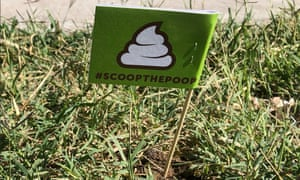Don't forget to drop in the trash – not the grass.