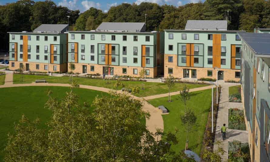 Lancaster University County Field residences.