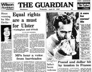The Guardian, 23 April 1969.