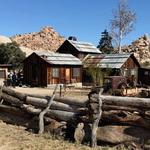 Keys Ranch in Joshua Tree national park. California, USA.
