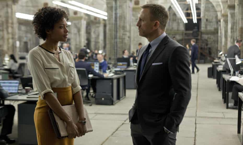 Harris with Daniel Craig in Skyfall, 2012: 'We want a Bond that inhabits the qualities we associate with Bond.'