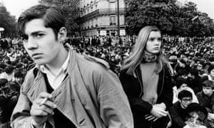 Student riots in Paris, 11 April 1968