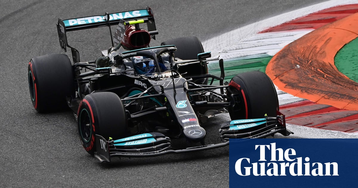 Bottas may be ordered to let Hamilton pass him in F1 Italian GP sprint race