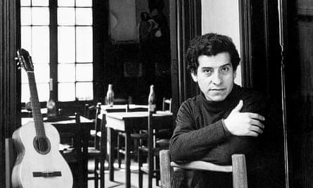 Victor Jara posing for a portrait in Santiago, Chile.