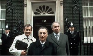Yes Minister TV series.