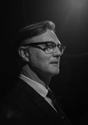 David Morrissey, presented Best Actress award