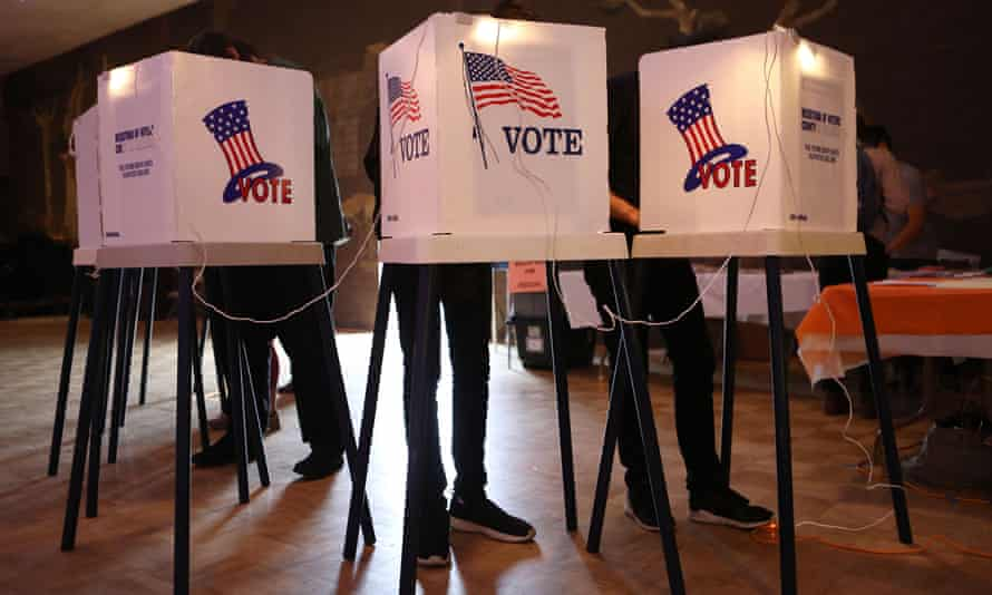 'No one should allow these challenges to prevent them from casting a ballot.'