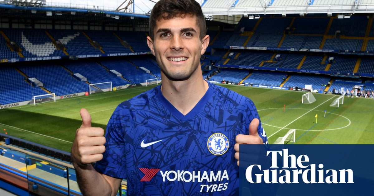 Christian Pulisic: 'There's a champion mentality at Chelsea' | Dominic Fifield